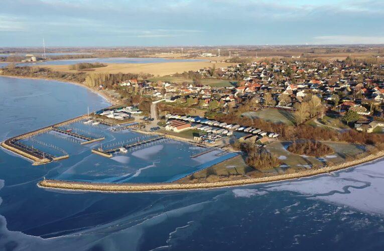 En smuk kold dag ved Roskilde Fjord