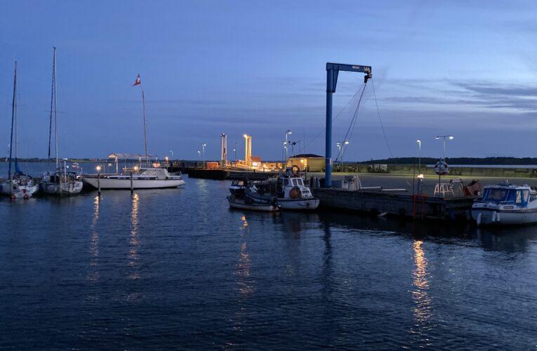 Tidlig pinse fra Roskilde til Orø