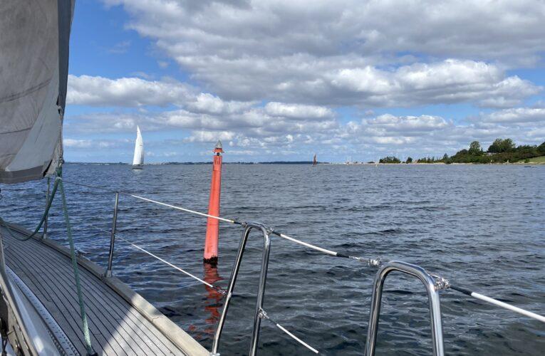God sejlads på Fjorden